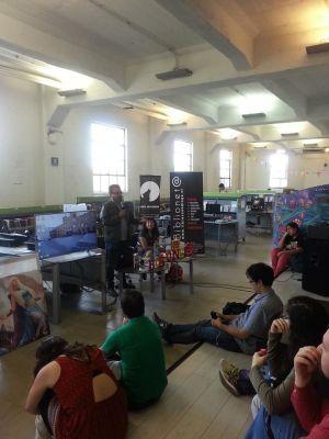Evento sobre literatura de Fantasía en la Sala Juvenil de la Biblioteca de Santiago