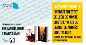 """Lanzamiento """"Intraterrestre"""" e """"Hijos de la Ira"""""""