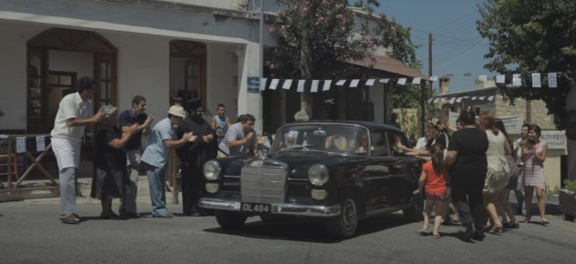 Hollywood stars enter Karmi in the now Turkish occupied village of Karmi