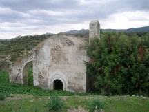 The church of Antiphonitis in Ayios Amvrosios, occupied Cyprus, once the hub of village life has been looted and left in a state of decay.