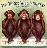 tthe three monkeys