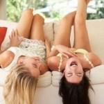 笑うと「幸せ物質」とよばれるセロトニンが増えます♡