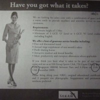 SilkAir Recruitment