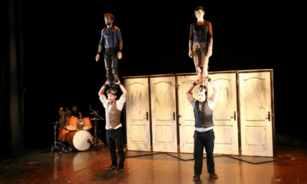 La Trócola Circo presenta su espectáculo «Emportats» en el Teatro Arniches