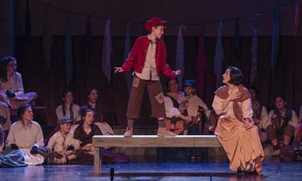 El musical Oliver Twist llega al Teatro Principal de Monóvar con el montaje de Taules Teatre