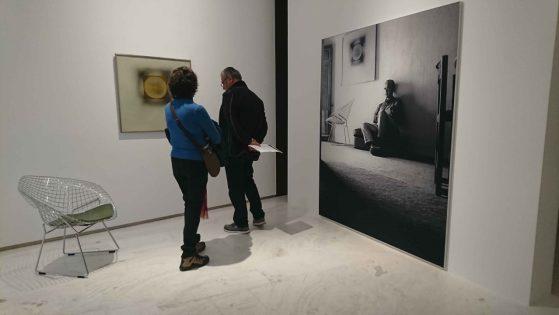 Fotos de la casa de Eduardo Sampere en Cuenca incluidas en la exposición. Foto: Orquidea Sanchez Azorin