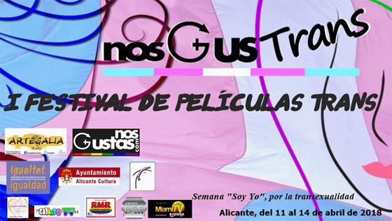 Alicante tendrá el primer festival de películas trans de España: NosGusTrans