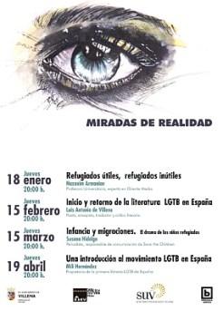Cartel Ciclo Miradas de Realidad
