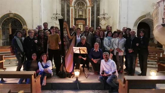 Uno de los Conciertos de Primavera Cultural organizado por la Associació d'Amics del Patrimoni Històric i Cultural Xinosa. Foto: Xinosa