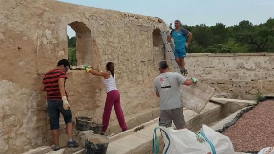 """Actividades de recuperación del patrimonio """"Xinosa en Acción"""". Foto: Xinosa"""