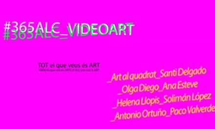 """""""#365ALC_Videoart"""" se inaugura en la Lonja del Pescado de Alicante como parte de «Todo lo que ves es arte»"""