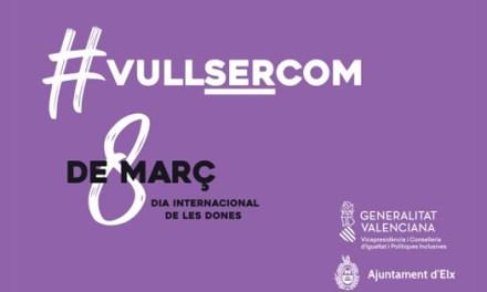 Música, teatro, talleres y premios la programación del Ayuntamiento de Elche para conmemorar el Día Internacional de las Mujeres