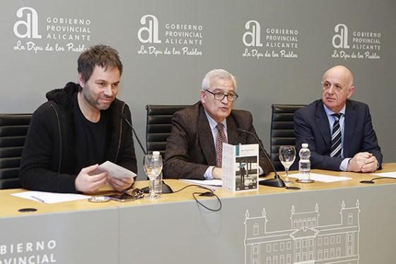 César Augusto Asencio y Josep Vicent en la Presentación de Concierto de la Orquesta Nacional de Bélgica. Foto: Prensa ADDA