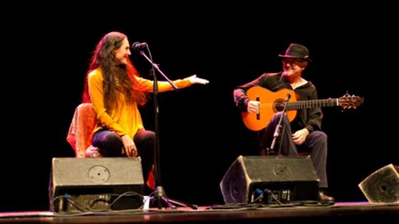 Clara Montes pone voz al concierto del Día Internacional de la Mujer en el Teatro Chapí de Villena
