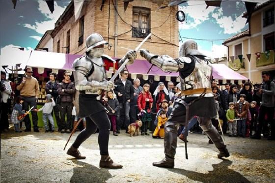 Combates Medievales Fiestas del Medioevo de Villena