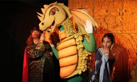 Somnis Teatro presenta «La princesa valiente y el dragón de rebajas» en l'Escorxador de Elche