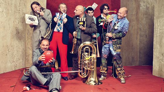 Dentro de su gira mundial, Mnozil Brass estará en el Teatro Castelar de Elda