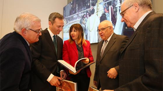 Patronato del Misteri d´Elx reedita libro y un cd con las voces de la festa con el apoyo de la Diputación de Alicante