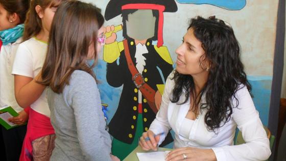 Raquel López : cada persona hace la digestión de un cuento en función de su vida