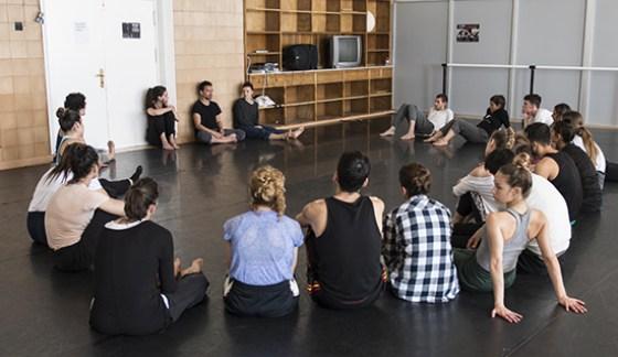 Tallar Cuerpo Vacío, Abril en Danza 2017