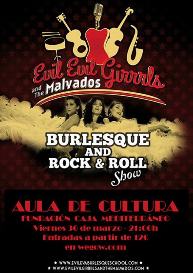 "Cartel ""Burlesque and Rock and Roll Show"""