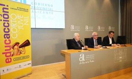 Diputación Provincial duplica aportación al Festival de Cine de Alicante para acercarlo a toda la provincia