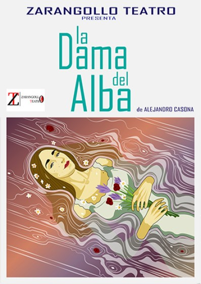 "Cartel ""La Dama de Alba"""