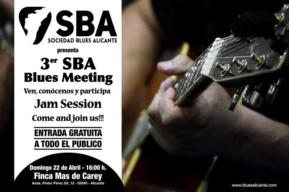 SBA Blues Meeting Finca Mas de Carey