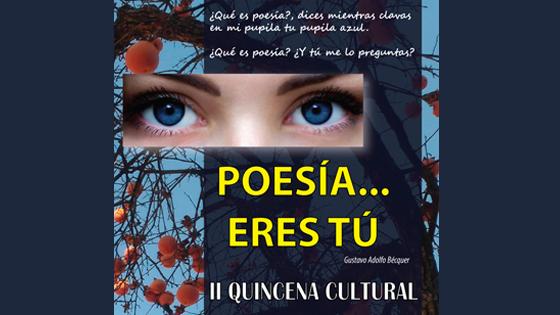 """«Gramática Parda» organiza en Elda la II Quincena Cultural """"Poesía…Eres Tú"""""""