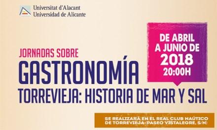 """""""La sal: única piedra comestible"""" primera conferencia de las Jornadas de Gastronomía «Torrevieja: historia de mar y sal»"""