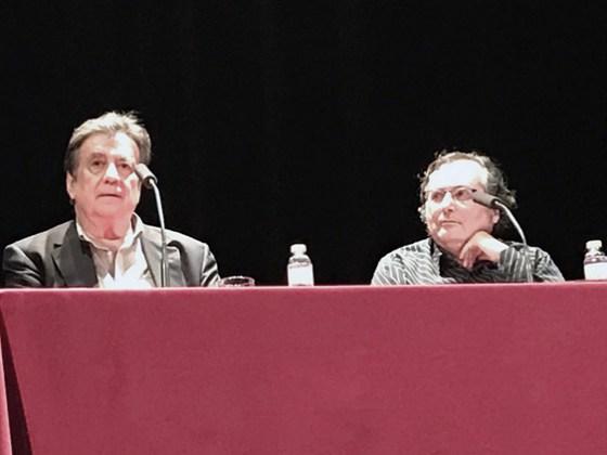 Luis Landero y Francisco Gómez. Foto. Carmen Dueñas.