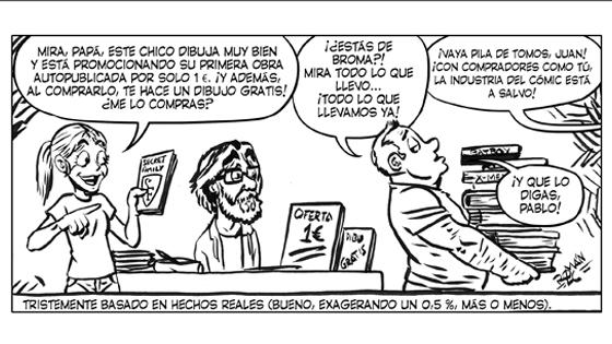 Román López-Cabrera Viñeta #7 LOBLANC