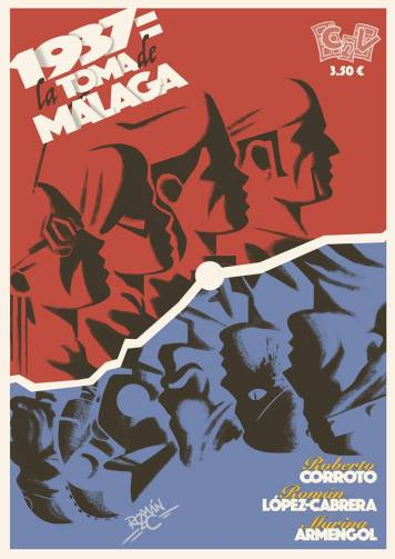 "Portadas Alternativas de ""1937: Toma de Malaga"""