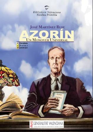 """Portada Comic """"Azorín: un monover universal"""""""