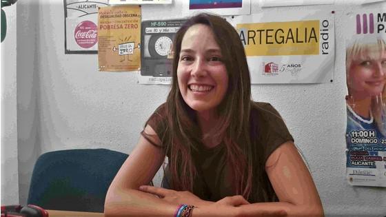 """Instantes intensos con Ágora Reix y su poemario """"El recital de los días"""""""
