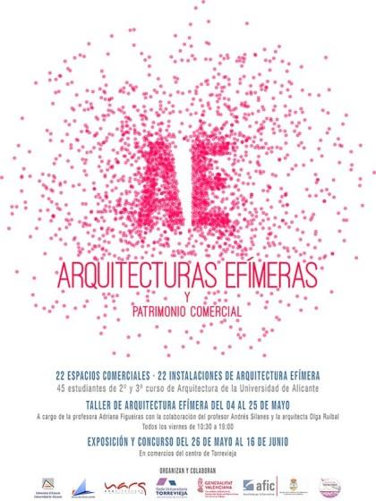 Cartel Arquitectura Efímera