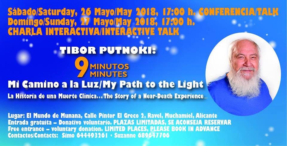 Charla y conferencia interactiva con Tibor Putnoki en el mundo de munana