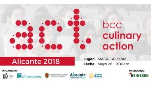 Cartel Culinary Actión! Alicante