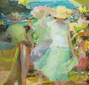 Exposición Fernando Soria. Luz, color y movimiento - Fundación Frax
