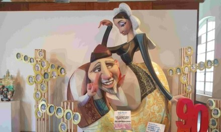 Inaugurada la Exposición del Ninot en la sala de la Lonja del Pescado