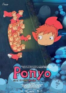 """Poster """"Ponyo en el Acantilado"""""""