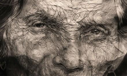 «Trama de pliegues» el deleite con el paisaje humano a través de las obras de de Omar Arráez