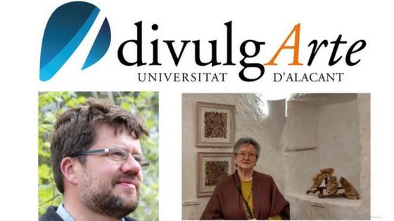 L'artista Pilar Sala i el botànic José Fajardo participaran divendres a DivulgArte de la Seu de la Universitat d'Alacant amb Etnobotànica i Art
