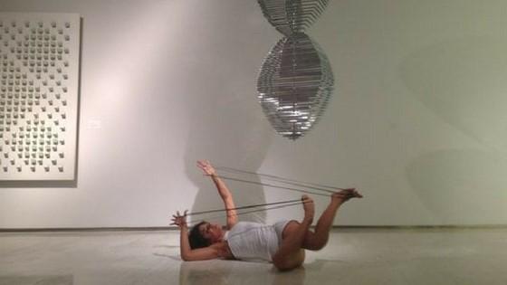 Eusebio Sempere en la Bienal de Arte de Madrid, gracias al Museo de Arte Contemporáneo de Alicante