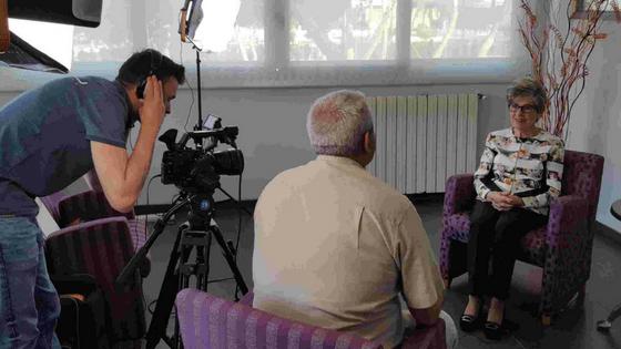 El Museo del Turismo de la Fundación Frax incrementa su fondo documental con grabaciones a la hotelera Pepita Mocho y el agente de viajes Juan Riera