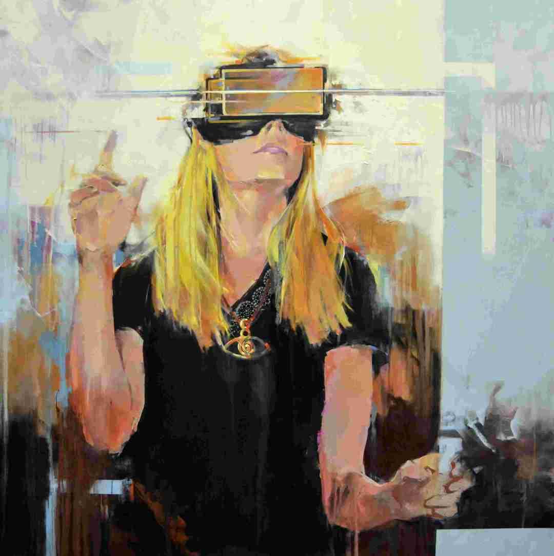 'Mirada virtual' de l'artista José Enrique Gómez Perlado
