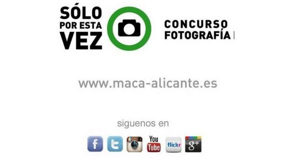 El Museu d'Art Contemporani convoca la VII edició del Concurs de Fotografia: NOMÉS PER AQUESTA VEGADA amb un premi de 500€ a la millor foto