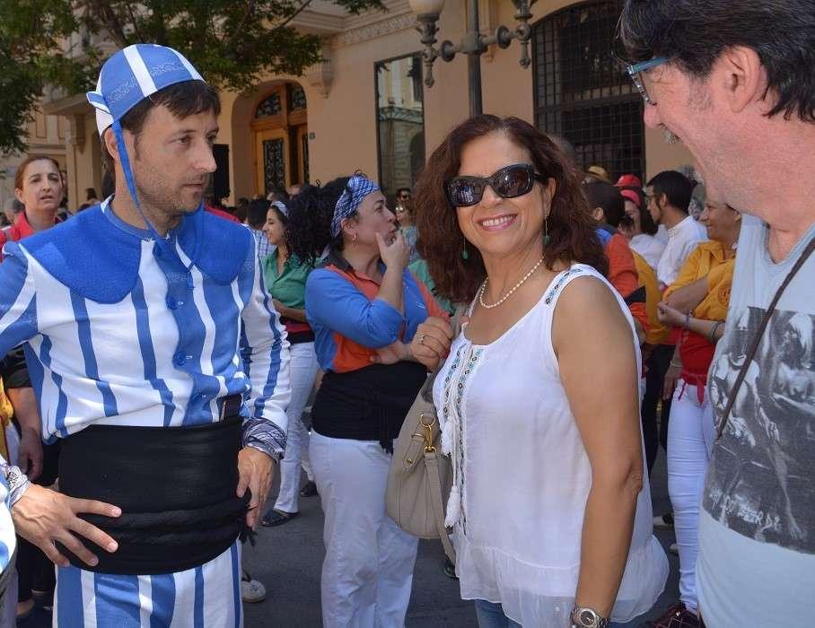 María Dolores Padilla y Manuel Palomar. Foto: Gabinete Prensa. Ayto. Alicante