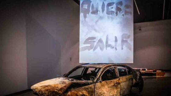 """Inauguració de l'Exposició """"Actes de comunicació"""" de Pablo Bellot"""