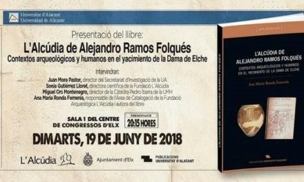 """El llibre """"L'Alcúdia d'Alejandro Ramos Folqués"""" es va presentar en el Centre de Congressos d'Elx"""